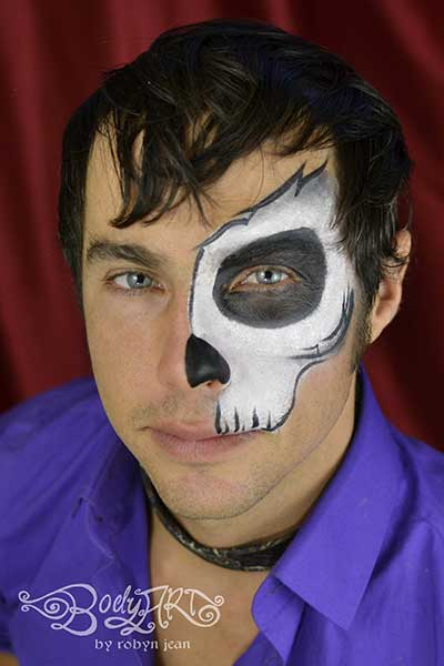 Halloween Face Painting & Day of the Dead Sugar Skulls San ...